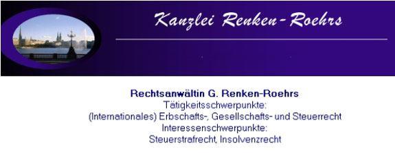 Anwältin Gabriele Renken-Roehrs