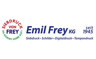 Emil Frey KG Siebdruck + Schilder, Digitaldruck, Tampondruck, Folienschrift