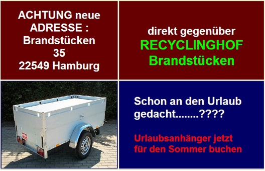 Anhängerverleih Hamburg