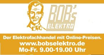 Bob's Elektro Elektrofachhandel mit Onlineshop