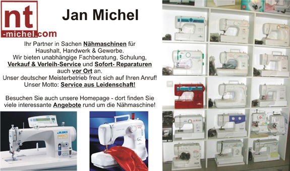 Nähmaschinentechnik Jan Michel