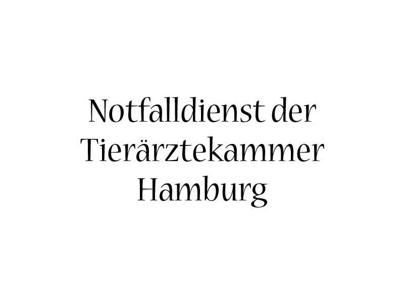 Tierärztlicher Notdienst der Tierärztekammer Hamburg