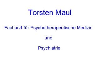Maul Torsten Arzt für Psychiatrie Psychoanalytiker