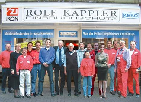Rolf Kappler Einbruchschutz aus Hamburg