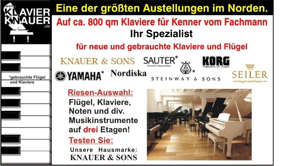 Klavier Knauer aus Hamburg
