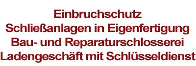 Pape GbR Das Schloss