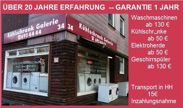 Kühlschrank Galerie, Elektro, Kühlschränke u. Waschmaschinen