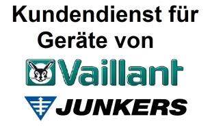 Junkers und Vaillant Gasheizung Kundenservice GTS-Federwitz Gasheizung