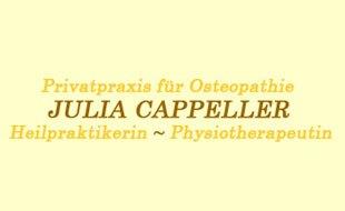 Cappeller Julia Heilpraktikerin Osteopathie Physiotherapeutin