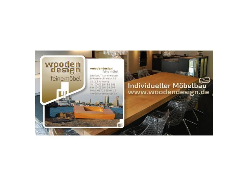 woodendesign feine möbel Tischlermeister Jan Korf