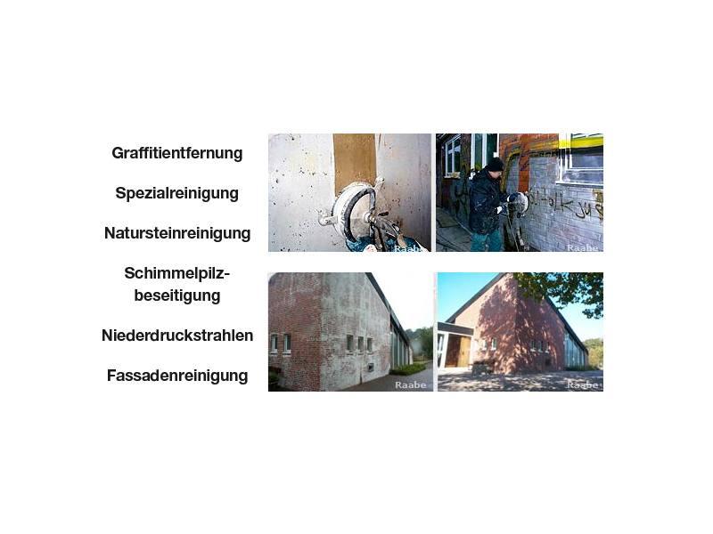 Raabe Graffitientfernung & Fassadenschutz