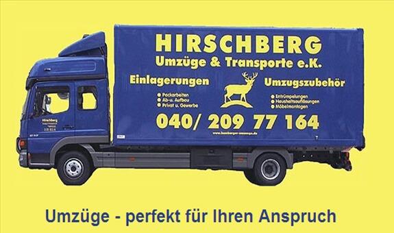 HIRSCHBERG Umzüge & Transporte e.K. aus Hamburg