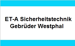 Logo von ET-A Sicherheitstechnik Gebrüder-Westphal-Hamburg Alarmanlagen