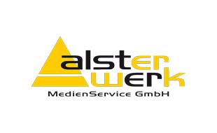 Logo von AlsterWerk MedienService GmbH Medienagentur Mediendienstleistungen