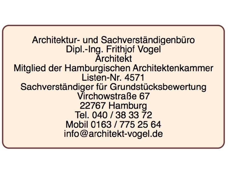 Architektur- u. Sachverständigenbüro F.Vogel