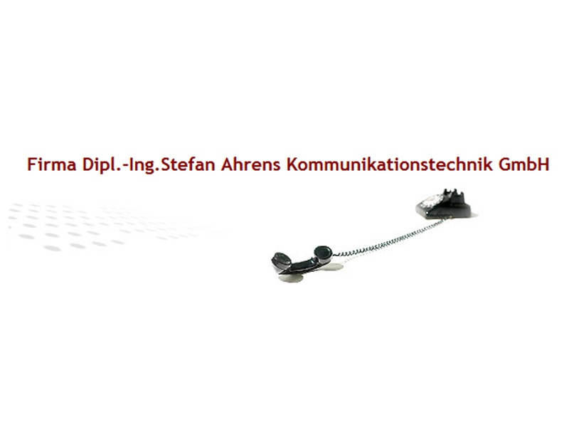 Ahrens Stefan Dipl.-Ing. Kommunikationstechnik GmbH