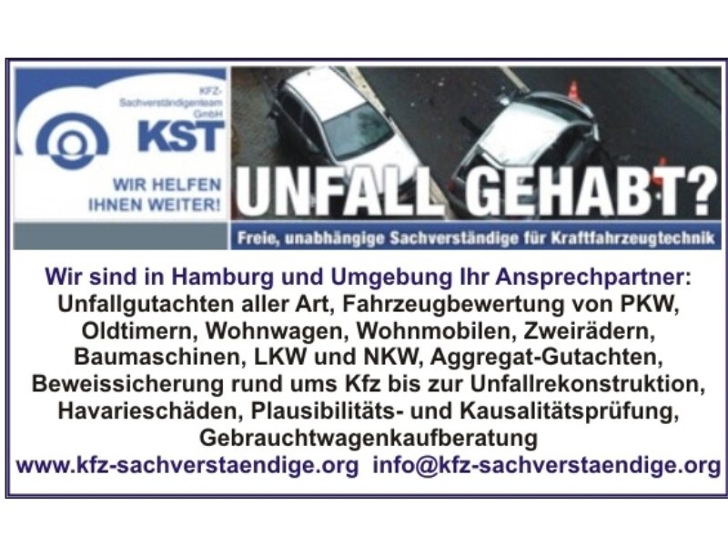 Kfz Hamburg | Gute Adressen | Öffnungszeiten