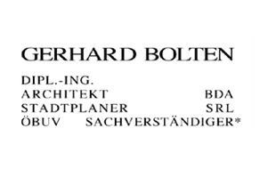 Gerhard Bolten ö.b.u.v. Bausachverständiger Architekt BDA