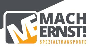 Logo von Mach-ernst! Spezialtransporte