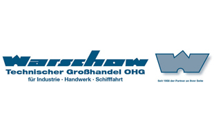 Logo von Warschow Technischer Großhandel OHG Handel mit Industrieausrüstungen