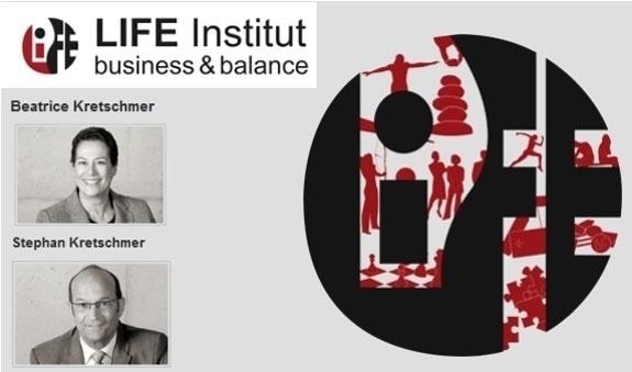 Logo von LIFE Institut business&balance, Beatrice Kretschmer