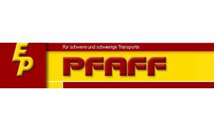 Logo von Pfaff Ernst GmbH Spezialtransporte