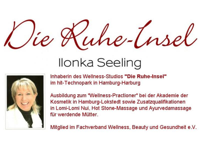 Logo von Seeling, Ilonka Wellness-Studio im hit-Technopark