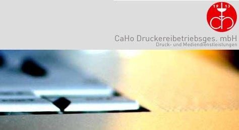 Logo von CaHo Druckereibetriebsgesellschaft mbH