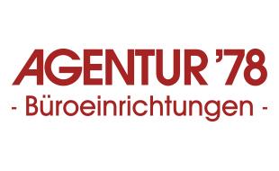 Logo von Agentur '78 GmbH - Büroeinrichtungen