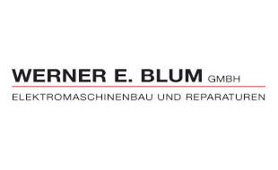 Logo von Werner E. Blum GmbH, Elektro-Maschinenbau