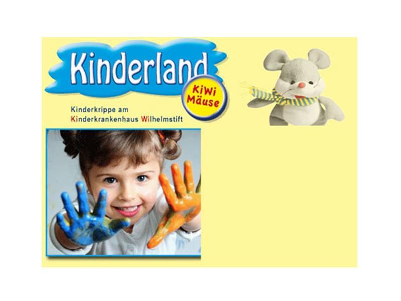 Logo von Kinderland Hamburg - Kiwi Mäuse Kindergarten