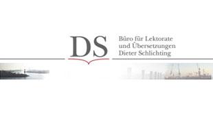 Logo von Schlichting Dieter Lektorat