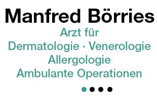 Bild zu Börries Manfred Hautarzt Arzt für Dermatologie u. Venerologie, Allergologie in Hamburg