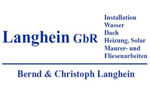 Bild zu Langhein GbR Gas- und Wasserinstallation in Hamburg