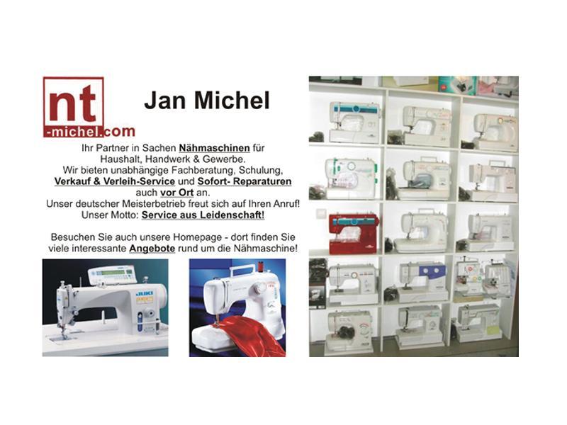 Logo von Nähmaschinentechnik Jan Michel