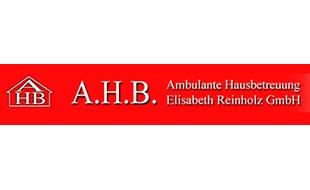 Logo von A.H.B. Ambulante Hausbetreuung Elisabeth Reinholtz GmbH Pflegedienst
