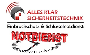 Logo von ALLES Klar Schlüsseldienst & Schlüsselnotdienst Schlossmontagen, Einbruchschutz & Sicherheitstechnik