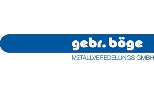 Bild zu Böge Gebr. Metallveredelungs GmbH in Hamburg