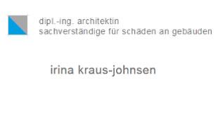 Bild zu Kraus-Johnsen Irina Dipl.-Ing. Bausachverständige in Hamburg