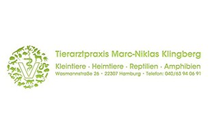 Bild zu Klingberg Marc-Niklas Tierarztpraxis in Hamburg