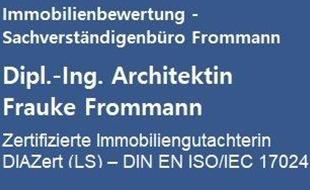 Bild zu Dipl.- Ing. Architektin Frauke Frommann Zertifizierte Immobiliengutachterin DIAZert (LF) – DIN EN ISO/IEC 17024 in Hamburg