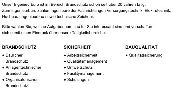 Ingenieurbüro für Brandschutz Dipl.-Ing. Heitmann Peter GmbH