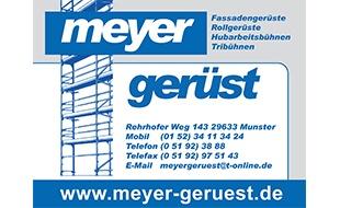 Logo von Meyer Gerüstbau