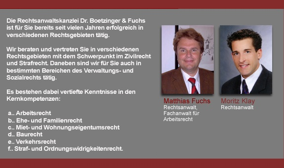 Boetzinger Dr. & Fuchs