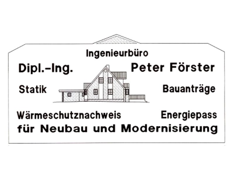 Statik-Büro Peter Förster Dipl.-Ing.