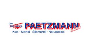 Paetzmann GmbH & Co. KG Kies- und Mörtelwerke Mörtelwerke
