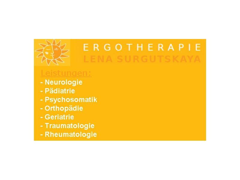 Ergotherapiepraxis im Südertor Lena Surgutskaya