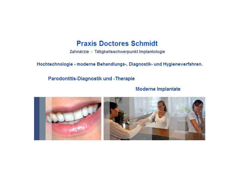 Schmidt Hans Dr., Helga Dr., Michael Dr. u. Jürgen Dr.