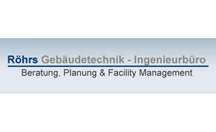 Logo von Röhrs Gebäudetechnik -  Ingenieurbüro