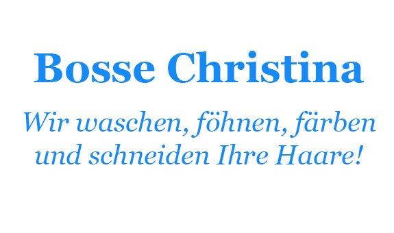Christina Bosse GmbH